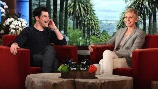Max Greenfield on Meeting Prince