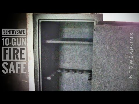 SentrySafe 10 Gun Fire Safe with Combination Lock (Model # GM1055C)