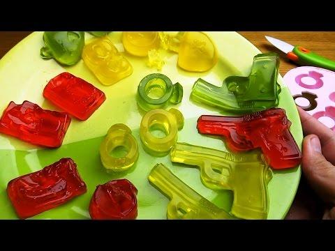 DIY • Желатиновые конфеты в формах для льда с Алиэкспресс!