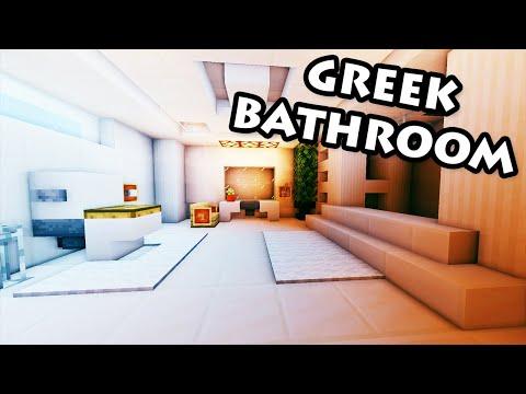 Minecraft Modern Bathroom Minecraft Tutorial How To