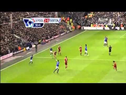 اهداف ليفربول 3 - 0 ايفرتون  .. Liverpool vs everton .. Gerrard's HAtrick