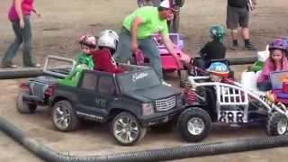 Smithville Fall fair 2014 Power wheels demo derby.