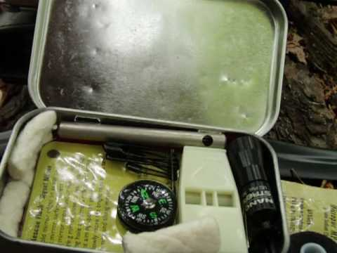 Survival: Custom Pocket Survival Tin