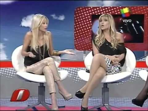 pelean en vivo en intrusos: Marcela tauro vs Vanesa carbone