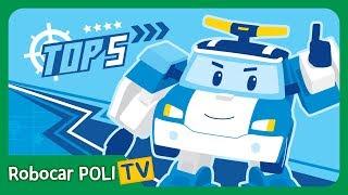 POLI TOP 5 | Robocar POLI Special Clips