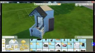Building Super Tiny House The Sims 4 1x3 like a Prison
