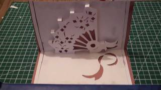 Kirigami Pop Up Hand Fan  (paper Craft) - Tcgames [hd]!