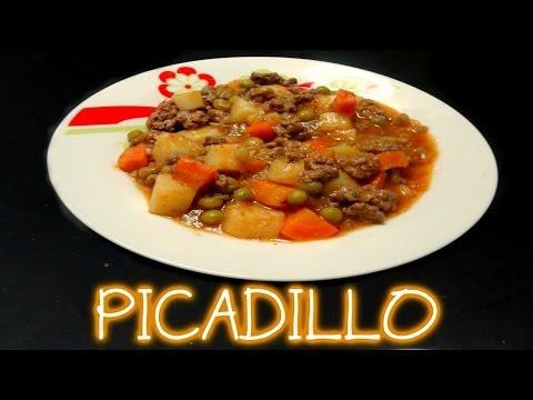 PICADILLO DE RES (receta - facil) | Mirem Itziar ❤