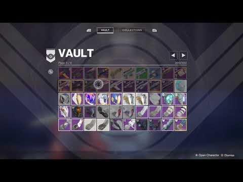 Clean Out Your Vault For Forsaken thumbnail