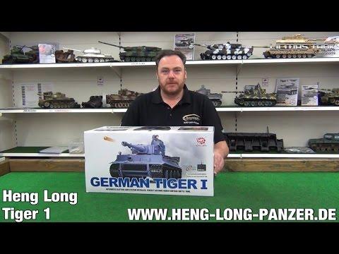 RC PANZER TIGER 1 HENG LONG 3818-1 PRODUKTVORSTELLUNG REVIEW AUSGEPACKT LICMAS-TANK
