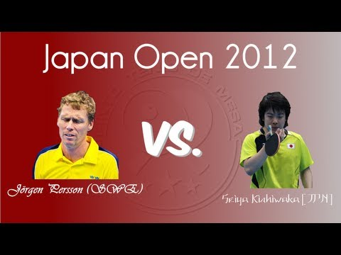 Japan Open 2012: Persson vs. Kishikawa
