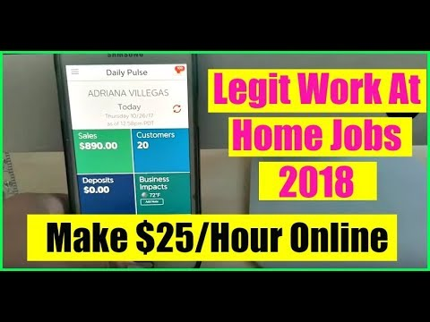 How to Make Money Online Fast - Best Work From Home Jobs - Legit Work At Home Jobs 2018