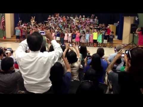 Addison's Cornerstone Kindergarten Awards Ceremony Song