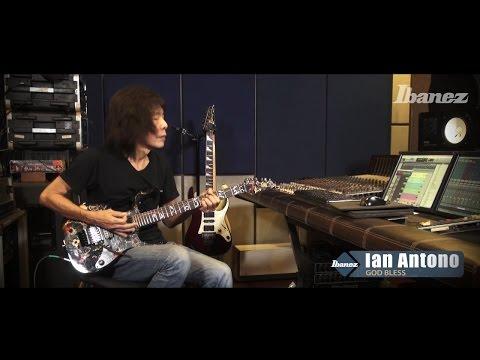 Ian Antono (God Bless) & Ibanez - part 1