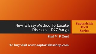 Easy Method To Find Disease by V P Goel [English + Hindi] - Excerpts