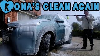 Quick cleaning routine for my Kona Electric