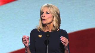 Dr. Jill Biden at the 2012 Democratic National Convention