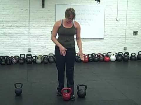 Kettlebell Training Clean and Jerk Overview Image 1