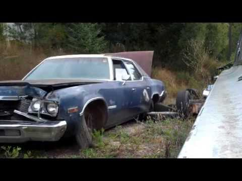 Part one of my next demolition derby car build for Lind Wa next june. A 1974 Plymouth fury 3. I will be working on it during the winter months. Next will be the tear down along with the front...
