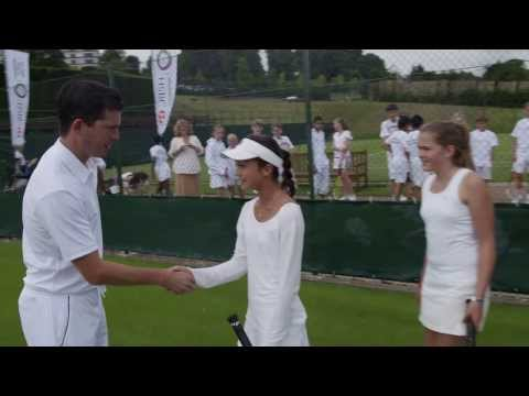 Compete for the chance to play at Wimbledon!