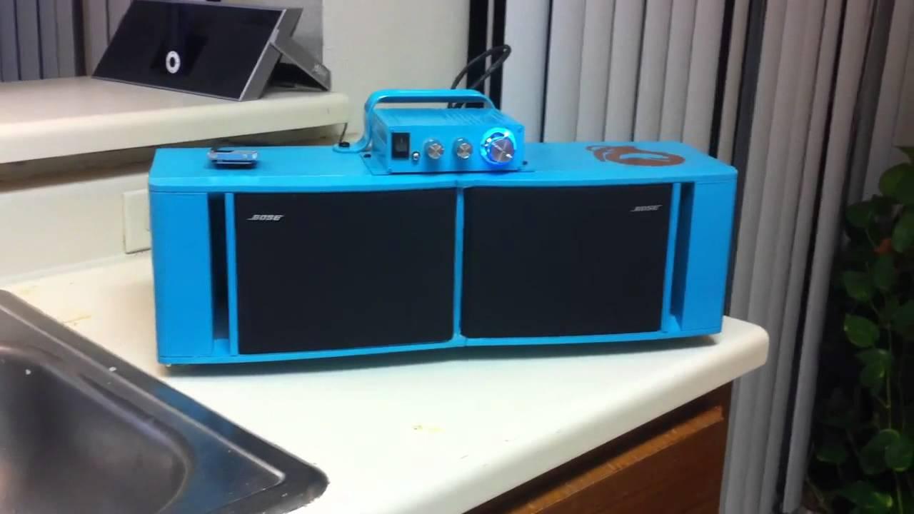 Bose Audio >> New portable bose 141 radio - YouTube