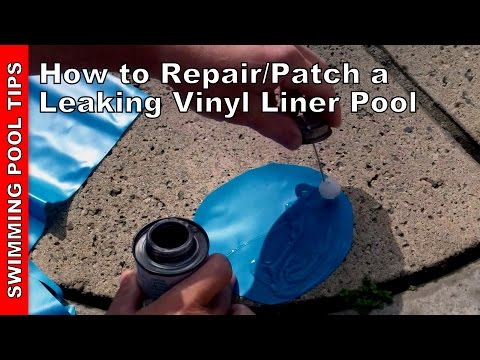 How to fix a leaking pond liner