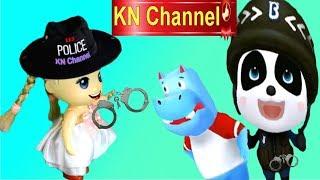 Trò chơi KN Channel BÚP BÊ TẬP LÀM CẢNH SÁT BẮT KẺ CƯỚP NGÂN HÀNG