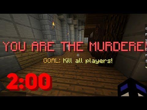 ВОЗМОЖНО ЛИ УБИТЬ ВСЕХ В MURDER MYSTERY ЗА 2 МИНУТЫ? - (Minecraft Murder Mystery)