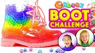 Orbeez Filled Boots Challenge with Orbeez Girls | Official Orbeez