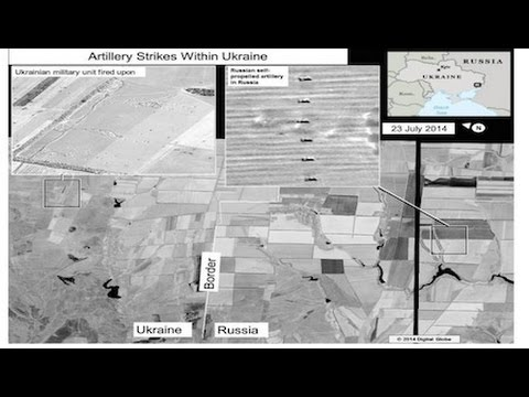 Do US Satellite Images Show Russia Firing Rockets Into Ukraine?
