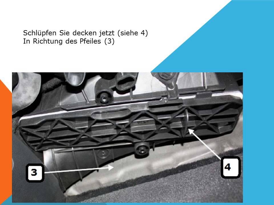 So Ersetzen Sie Den Innenraumfilter Auf Einem Volkswagen