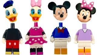Learn Colors with Mickey Mouse Paw Patrol Legos Wrong Heads | Fizzy Fun Toys