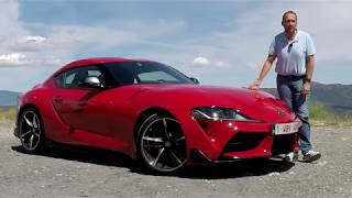2020 Toyota Supra - First Drive Test Video Review