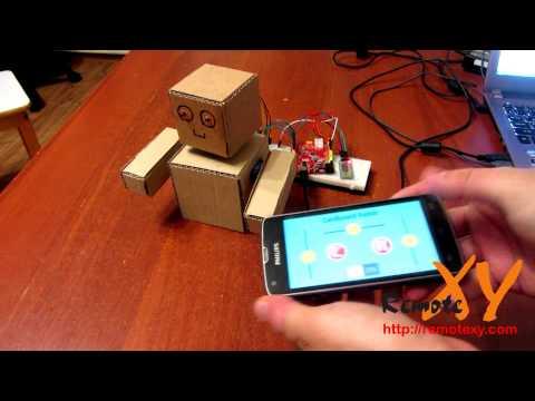 Робот на базе смартфона своими руками