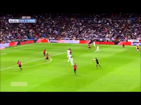 Real Madrid 4 0 Osasuna Highlights (HD) Fabioiswen 26 April 2014