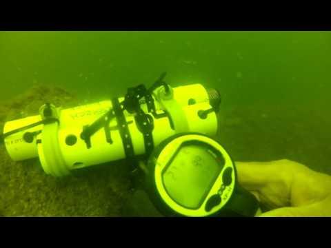 2016June22 FH4 Ship Island Barge USM Sensor 10 deployed by MGFB