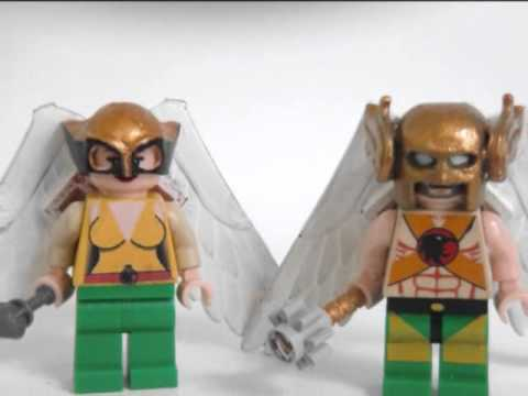 Lego Justice League Minifigures Custom How To Save