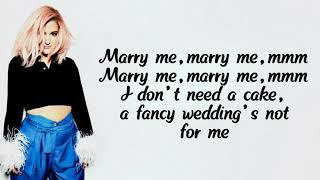 Meghan Trainor - Marry me (Lyrics) [Lyric Video]