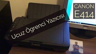 Ucuz Öğrenci Yazıcısı | Canon E414 | A101 Alışverişi