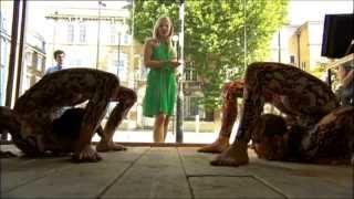 Pixie Le Knot Contortion BBC1 LONDON BBC London News 2013 08 30