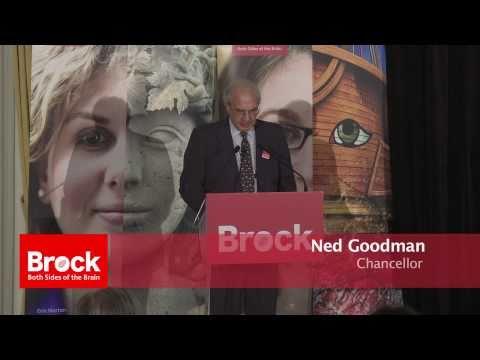 Brock University Chancellor's Alumni Reception at Le Royal Meridien King Edward Hotel