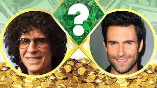 WHO'S RICHER? - Howard Stern or Adam Levine? - Net Worth Revealed! (2017)
