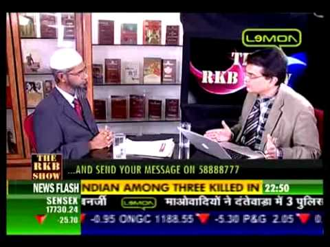Interview of Dr. Zakir Naik on Lemon TV (6/7)