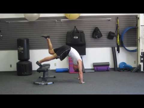 Bodyweight Strength Training Without Weights | Body Weight Exercise Training Workouts | HASfit Image 1