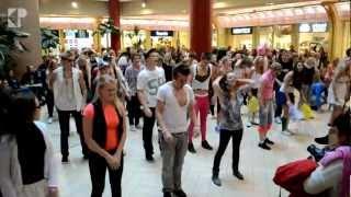 download lagu Tunak Tunak Tun + Gangnam Style Flashmob  Solaris gratis