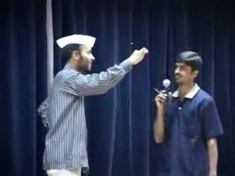 hindi comedy skit- praveen pathak ki Gawahi at HBCSE