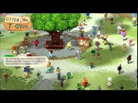 Animal Crossing Plaza for Wii U now available for free in eShop - Wii U 3DS News
