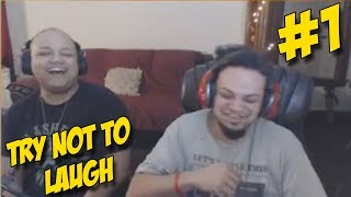 Try not to laugh challenge (#1)