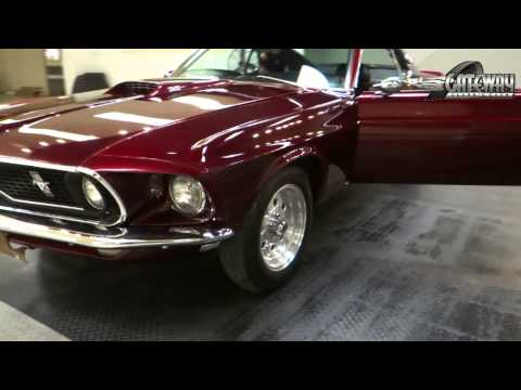 1969 Ford Mustang Fastback for sale at Gateway Classic Cars in St. Lou