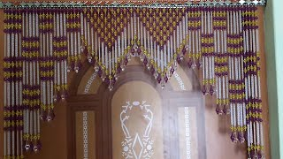 Awesome Door Hanging Toran Making At Home How To Make Door Hanging Toran